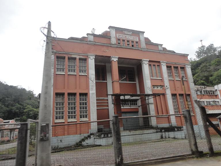 antiga fábrica têxtil
