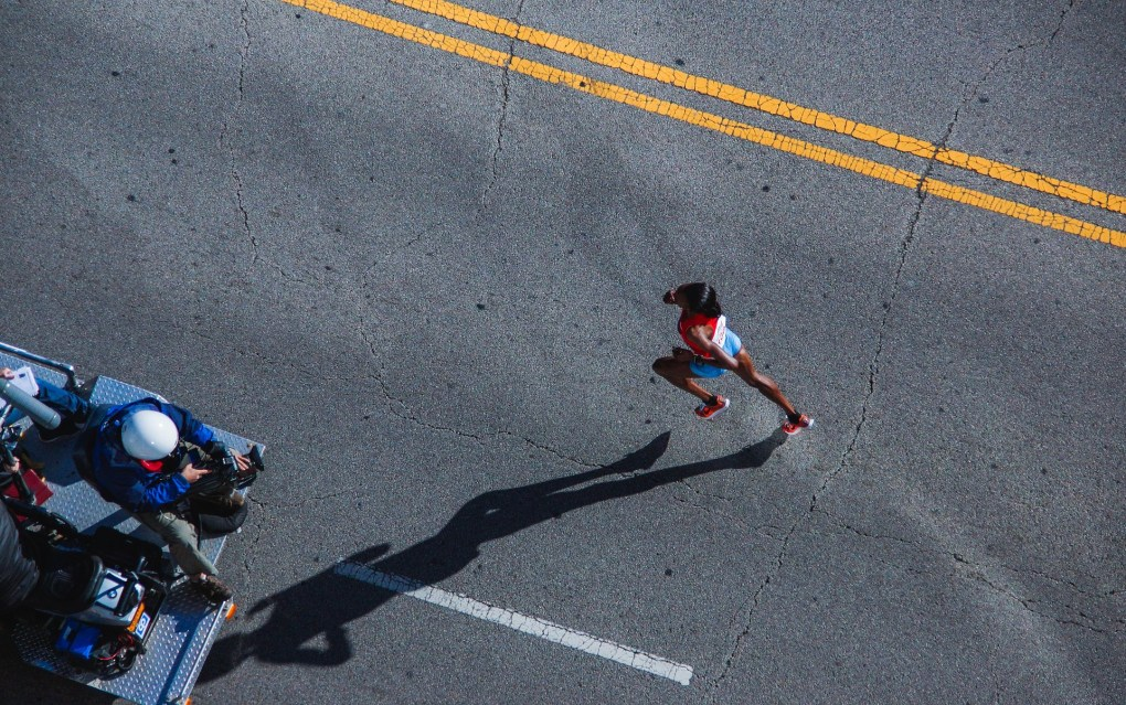 tapering maraton