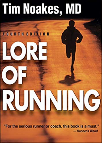 Lore of running Book Cover