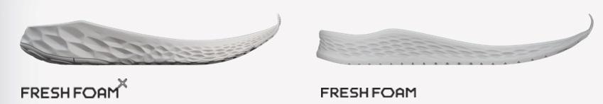 Diferencias Fresh Foam vs Fresh Foam X