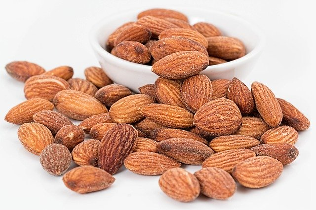 alimentación para correr. frutos secos