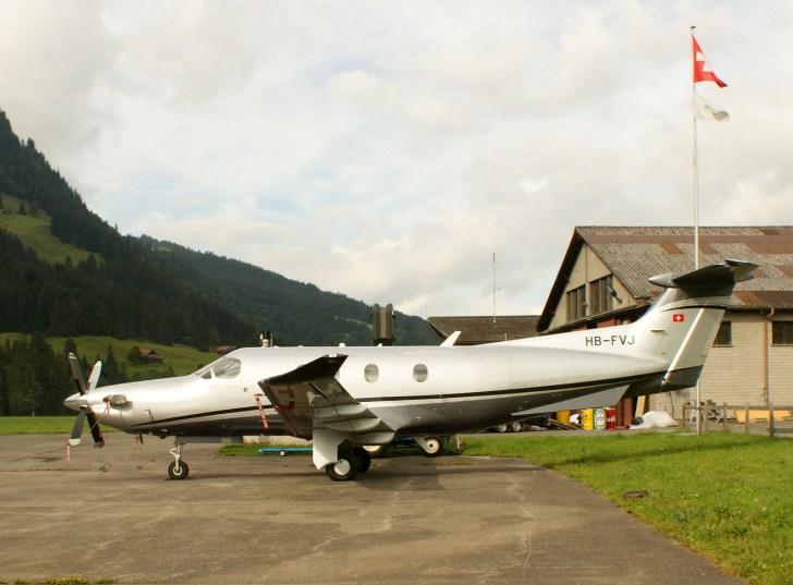 Pilatus PC-12 HB-FVJ Privat