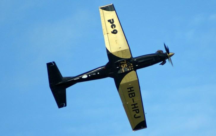Pilatus PC-9 HB-HPJ Demo Pilatus Aircraft