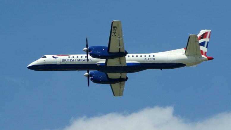 Saab 2000 G-CDEB British Airways