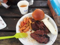 Braai food from the annual South African get-together we had in June. Complete with noodle salad. :)