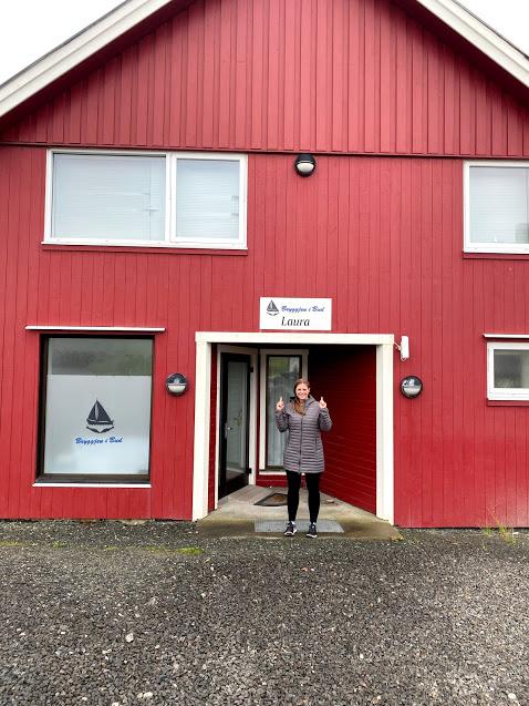 Bud Norway near fjord