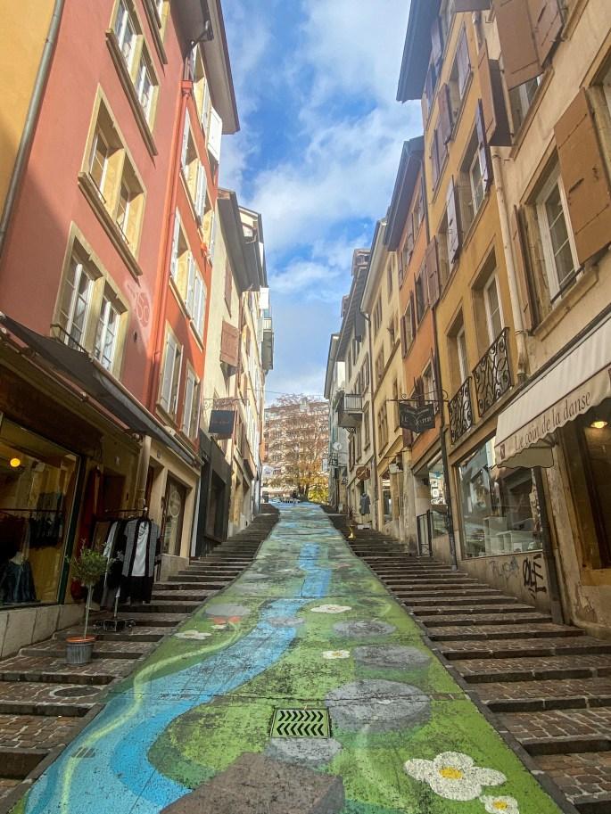 Rue des Chavannes in neuchatel