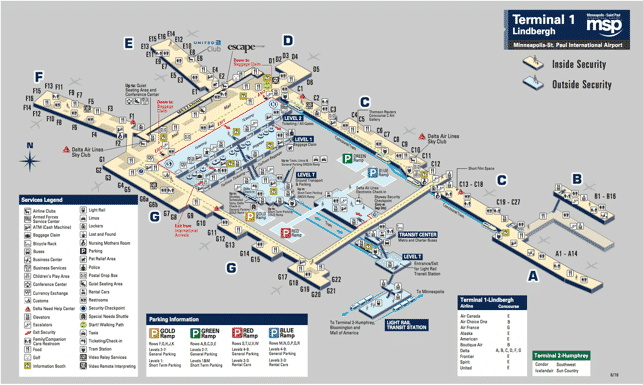 healthy food at minneapolis airport (msp) spring 2018 MSP Airport Map Terminal 1 also, check out these tips and tricks for msp airport from your fellow travelers!