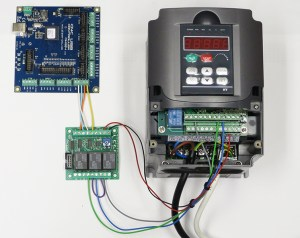 Using output board for spindle control  Pla CNC