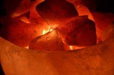 Les bienfaits de l'iode grâce à la lampe en cristal de sel.