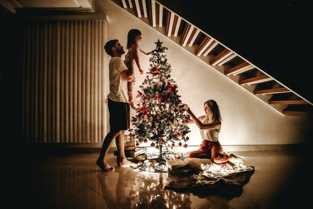 Préparer Noël avec les enfants.