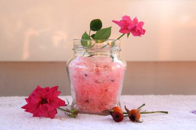 Fabriquer sels de bain