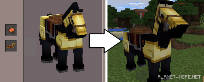 How to make a horse in minecraft