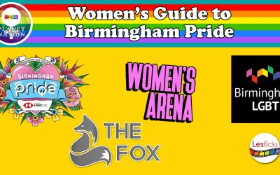 Women's Guide to Birmingham Pride Weekend 25-27 May 2019