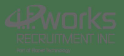 IT Works Recruitment Inc logo in grey