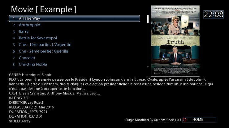 Abonnement SuptTV Enigma2 oscam IPTV VOD 12 mois