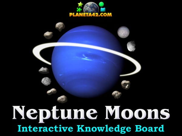 Neptune Moons Puzzle | Astronomy Learning Game
