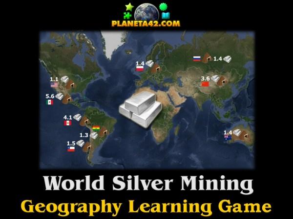 Световно Производство на Сребро | Забавна Образователна Игра