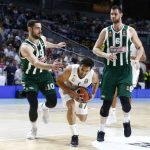 Showtime del Real Madrid ante Panathinaikos en el primer cuarto