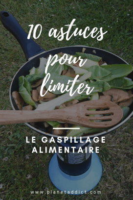 Pinterest - gaspillage alimentaire
