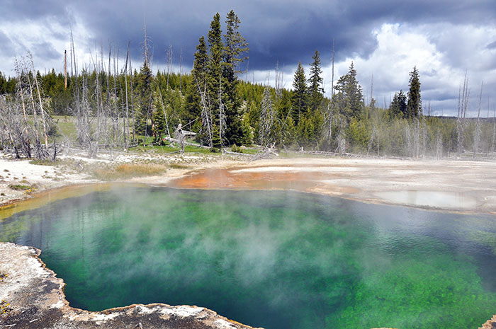 Yellowstone National Park : West Thumb