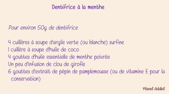 Dentifrice