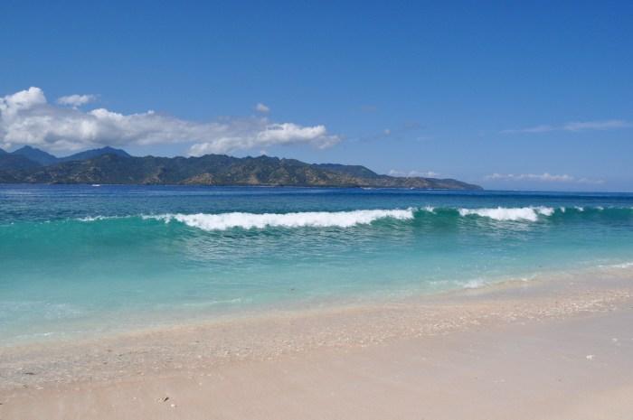 Gili Island plage