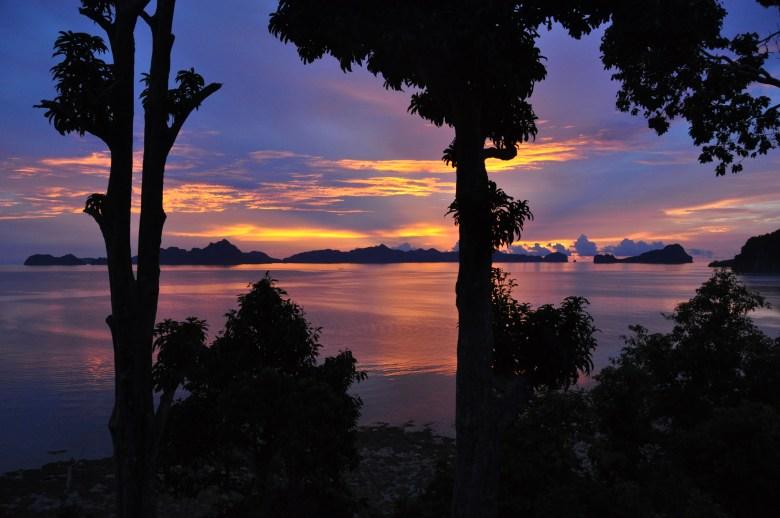 coucher de soleil El Nido