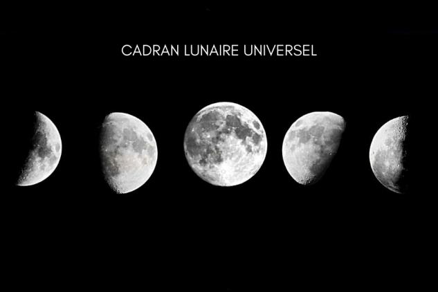 Se mettre en phase avec la lune : cadran lunaire universel