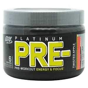 relato Platinum Pré-Workout ON