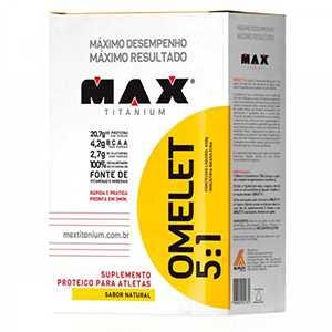 Omelet 5:1 Max Titanium suplemento