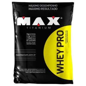Whey Pro Max Titanium é bom
