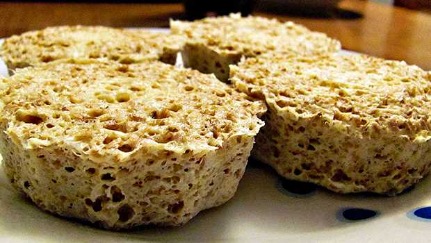 Receita de Pão de Batata Doce de Microondas