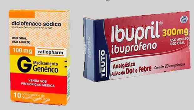 Ibuprofeno e diclofenaco elevam risco de infarto