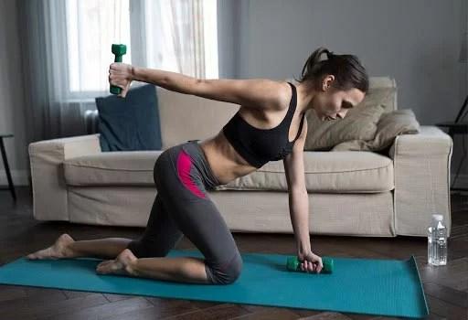 A importância de fazer exercícios durante o isolamento