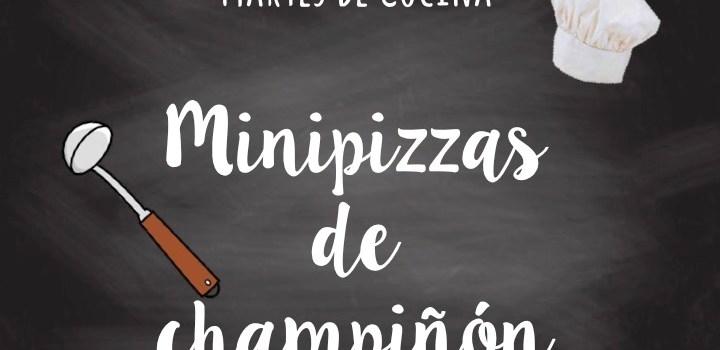 Minipizzas de Champiñón