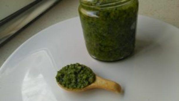 Pesto de rúcula bajo en fodmaps