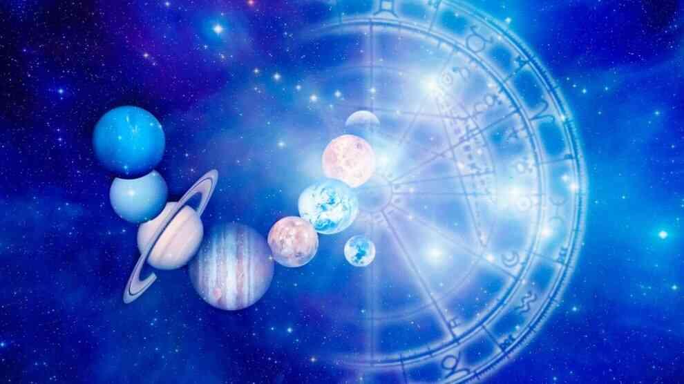 Astrologia - Mandala astrológica e planetas