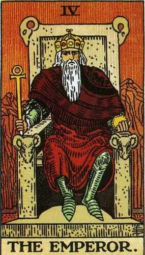 Carta do Tarot - Arcano 4 O Imperador