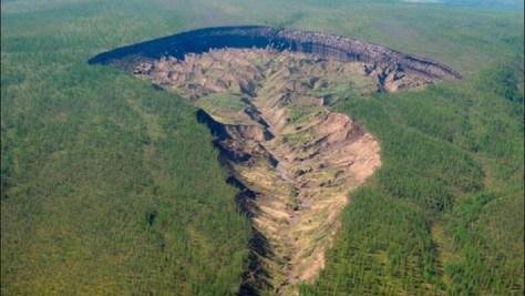 Misterioso Cráter de Siberia