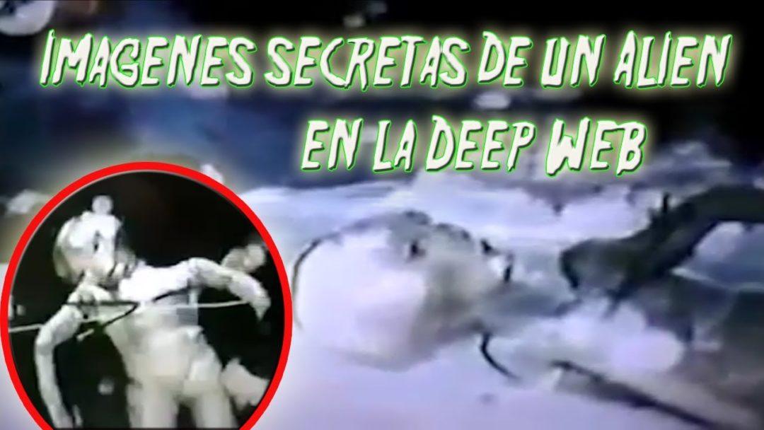 Imágenes Secretas de un Extraterrestre en la Internet Oscura