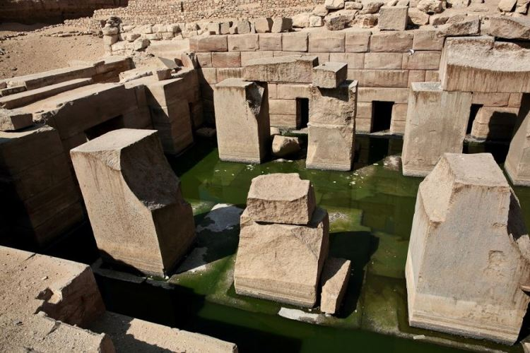 El templo de Osirion. Crédito de la imagen: Shutterstock