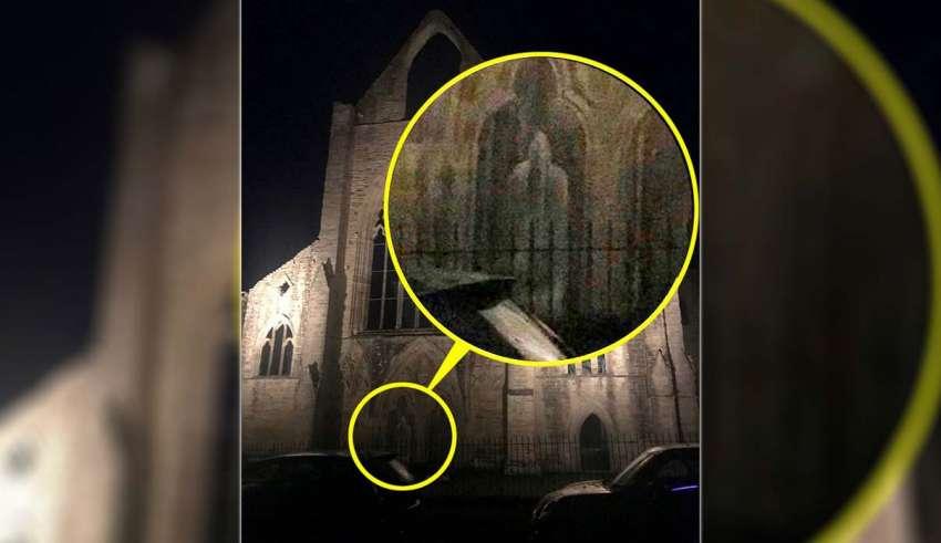 Una exploradora urbana visita una abadía del siglo XII y se encuentra con el fantasma de un monje