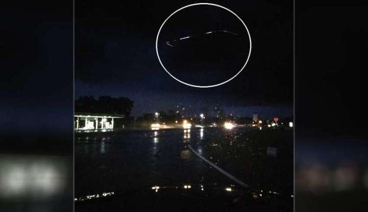 Fotografían un espectacular OVNI