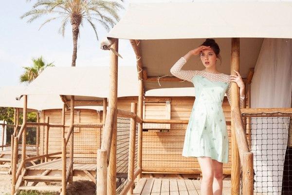 Tiralahilacha es una marca de moda sostenible para la mujer con aire vintage.