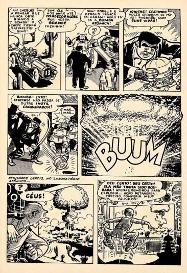 15ª página da história O Carro Atômico.