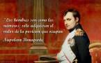 napoleon bonaparte frase de matematicas