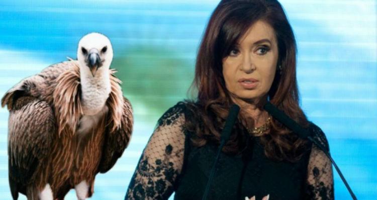 Fondos Buitres: Cristina no permitirá que su patrimonio crezca mas que el de ella