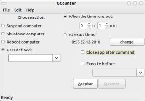 gcounter ubuntu