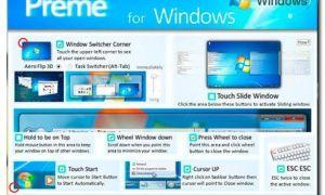 Preme, un programa para mejorar el control de ventanas en Windows 7